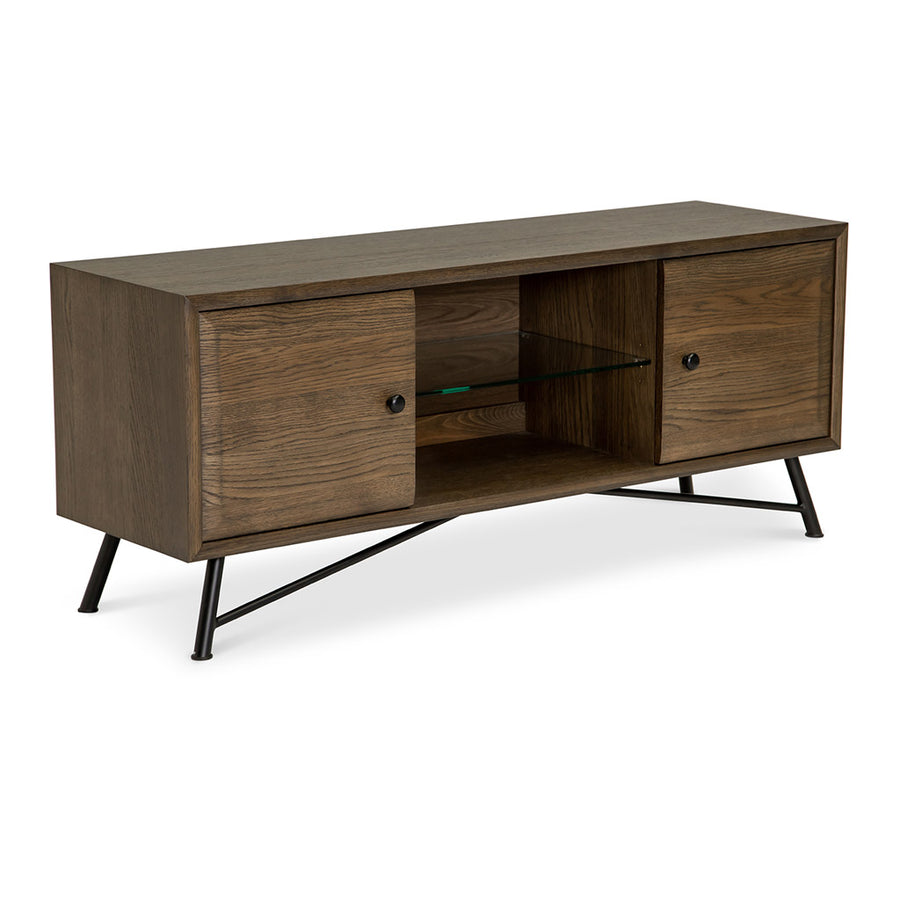 Finn Modern Industrial Scandinavian Entertainment Unit RETROJAN  Lucy Designer Entertainment Unit