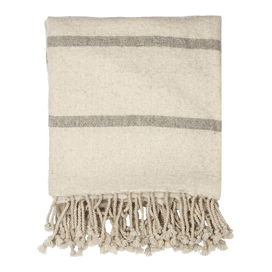 Fitzgerald Wool Blend Throw PHTHAC001