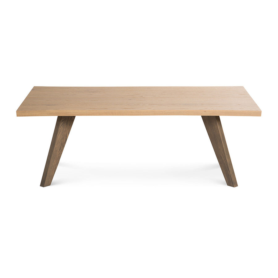 Fredrik Rustic Industrial Scandinavian Wooden Oak Coffee Table