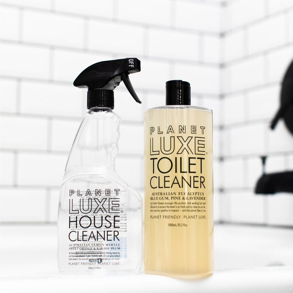 Home Cleaning Planet Luxe Toilet cleaner lifestyle TC0004-1000