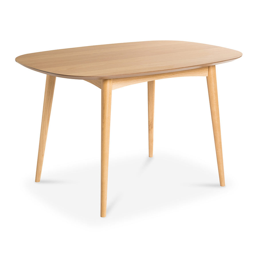 Ingrid Retro Scandinavian Wooden Oak 4 Seater Dining Table BROSA Mia Dining Table INTERIOR SECRETS  DT782-VN Johansen 1.3m Fixed Dining Table - Natural RETROJAN Vaasa Freidrich 4 Seater Dining Table - Oak MATT BLATT Stockholm Dining Table Small