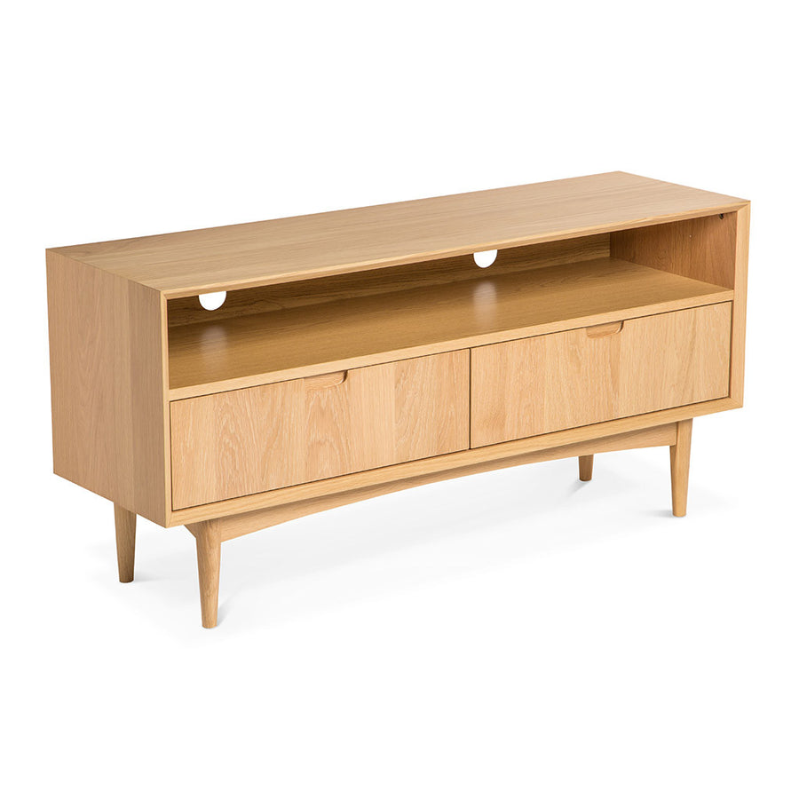 Ingrid Retro Scandinavian Wooden Oak Entertainment Unit BROSA Mia Entertainment Unit INTERIOR SECRETS  TV140-VN Johansen TV Entertainment Unit MATT BLATT Stockholm Entertainment Unit with 2 Drawers LIFE INTERIORS Stockholm Entertainment Unit Oak