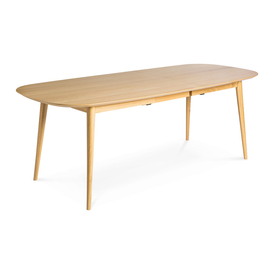 Ingrid Retro Scandinavian Wooden Oak Extendable 6 - 8 Seater Dining Table BROSA Mia Dining Table INTERIOR SECRETS DT780-VN Johansen Dining Table - Natural MATT BLATT Stockholm Extension Dining Table LIFE INTERIORS Stockholm Extension Dining Table (Oak)