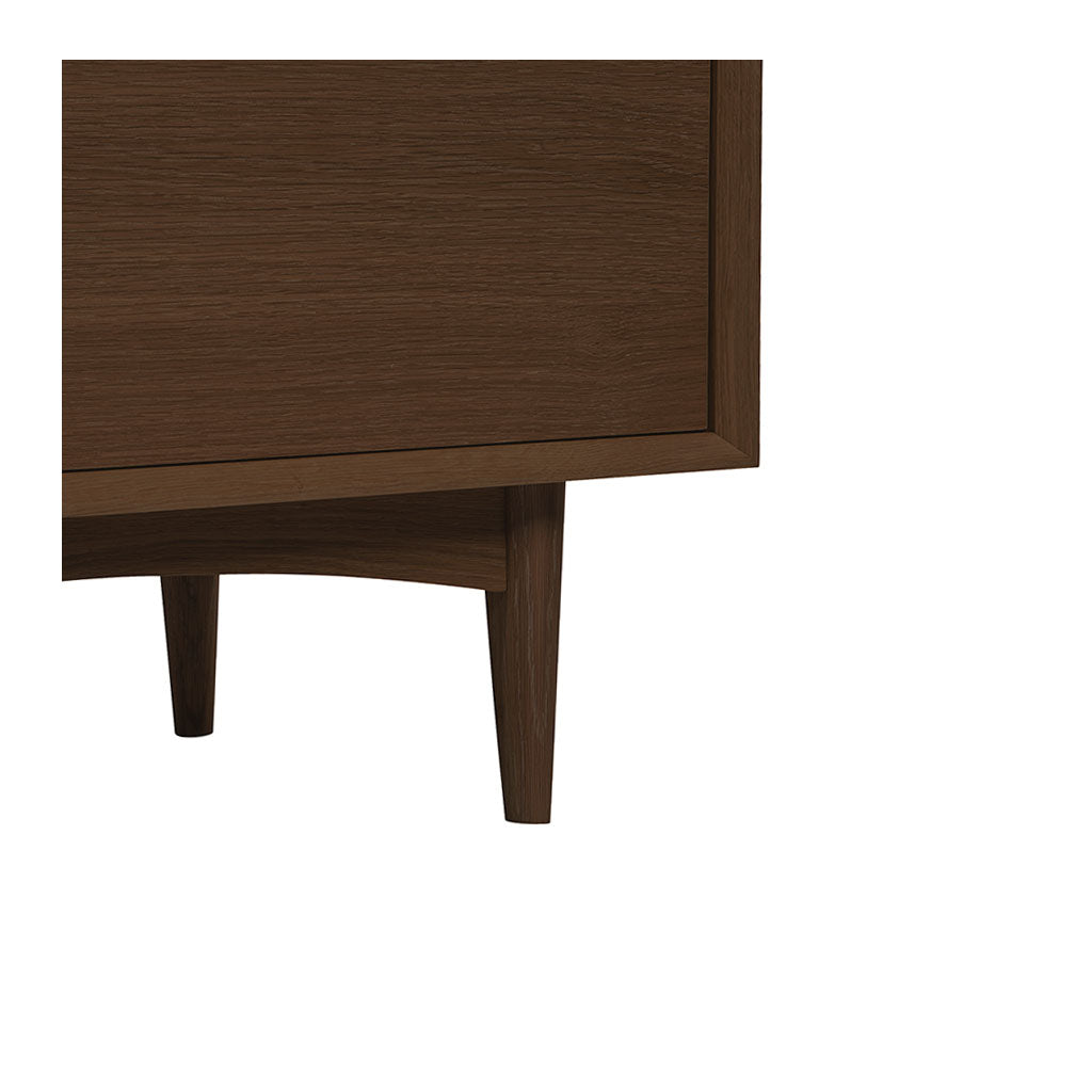 Isaak Danish Scandinavian Walnut and Beech Wood Chest of 5 Drawers / Tall Boy BROSA CODETH07WAL Ethan Narrow Chest of Drawers, LIFE INTERIORS  Saturn Chest of 5 Drawers (Walnut)
