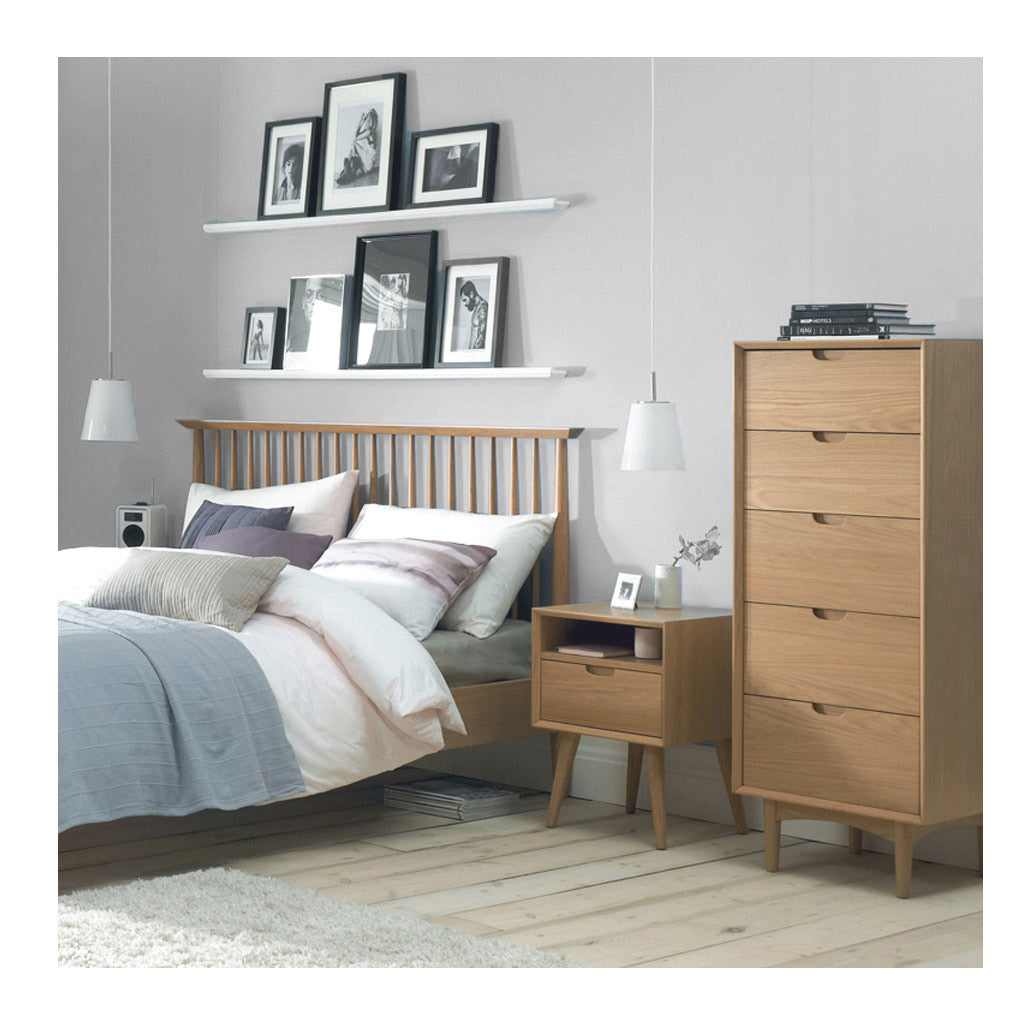 Jakob Danish Scandinavian Wooden Oak Tall Chest of Drawers BROSA CODETH07OAK Ethan Narrow Chest Of Drawers, INTERIOR SECRETS  DT919-VN Asta 5 Drawer Chest MATT BLATT  Stockholm Tall Chest of 5 Drawers, LIFE INTERIORS Saturn Chest of 5 Drawers (Oak)