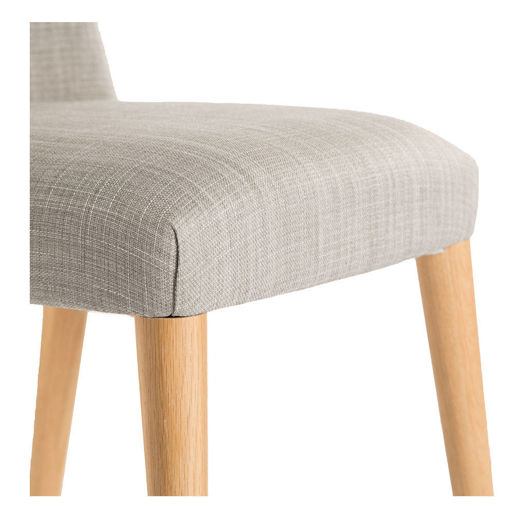 Josefine Scandinavian Wooden Oak and Grey Linen Dining Chair INTERIOR SECRETS DC789STE-VN Miles Scandinavian Upholstered Modern Dining Chair MATT BLATT Norfolk Dining Chair