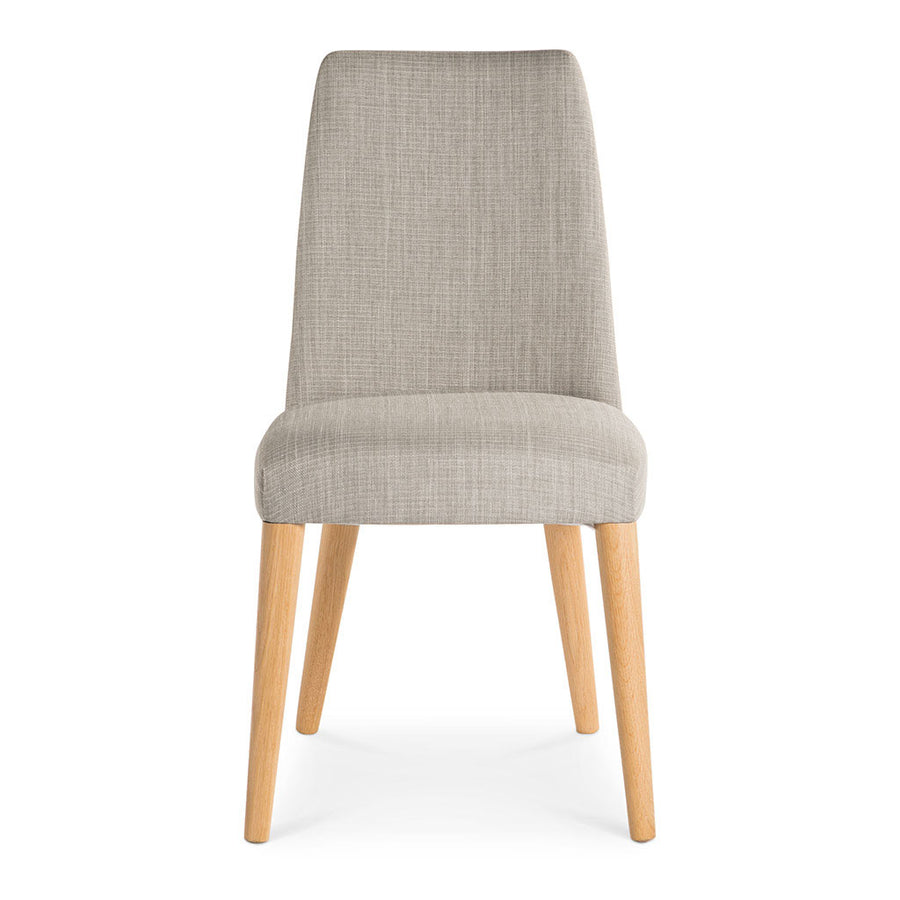 Josefine Scandinavian Wooden Oak and Grey Linen Dining Chair INTERIOR SECRETS DC789STE-VN Miles Scandinavian Upholstered Modern Dining Chair RETROJAN SET OF 2 Nikoli-Taper Back Upholstered Dining Chair - Linen MATT BLATT Norfolk Dining Chair