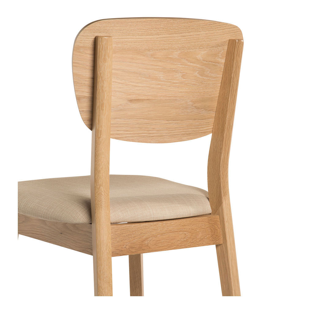 Kara Scandinavian Wooden Dining Chair Set Of 2 The