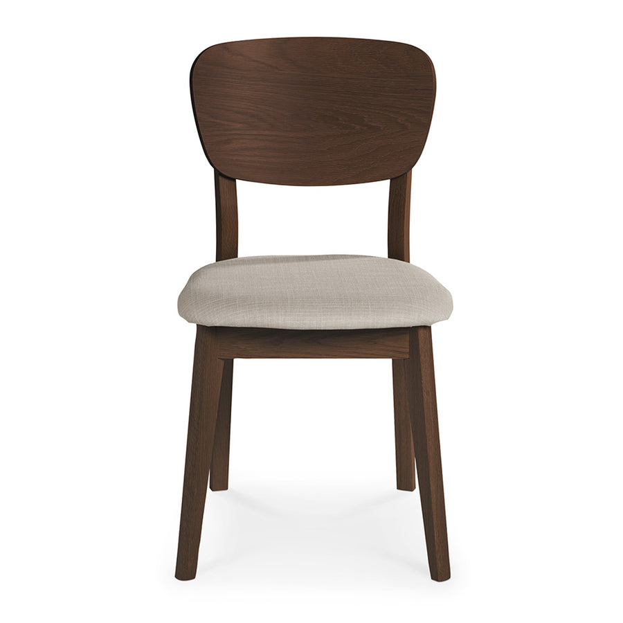 Logan Scandinavian Walnut and Beech Wood Grey Linen Dining Chair INTERIOR SECRETS  DC785WAL-VN Johansen Veneer Dining Chair - Fabric Seat - Walnut , RETROJAN  SET OF 2 Vaasa Bettina Scandinavian Style Veneer Back Chair - Walnut