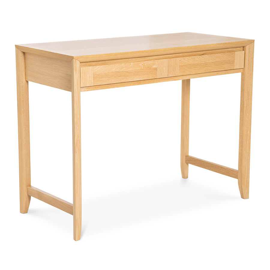 Mabel Country Style Scandinavian Wooden Oak Home Office Desk
