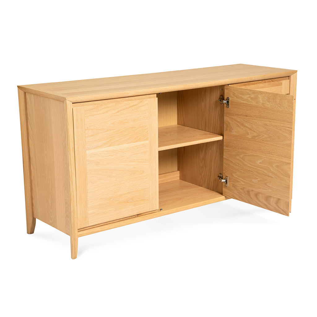 Mabel Country Style Scandinavian Wooden Oak Sideboard