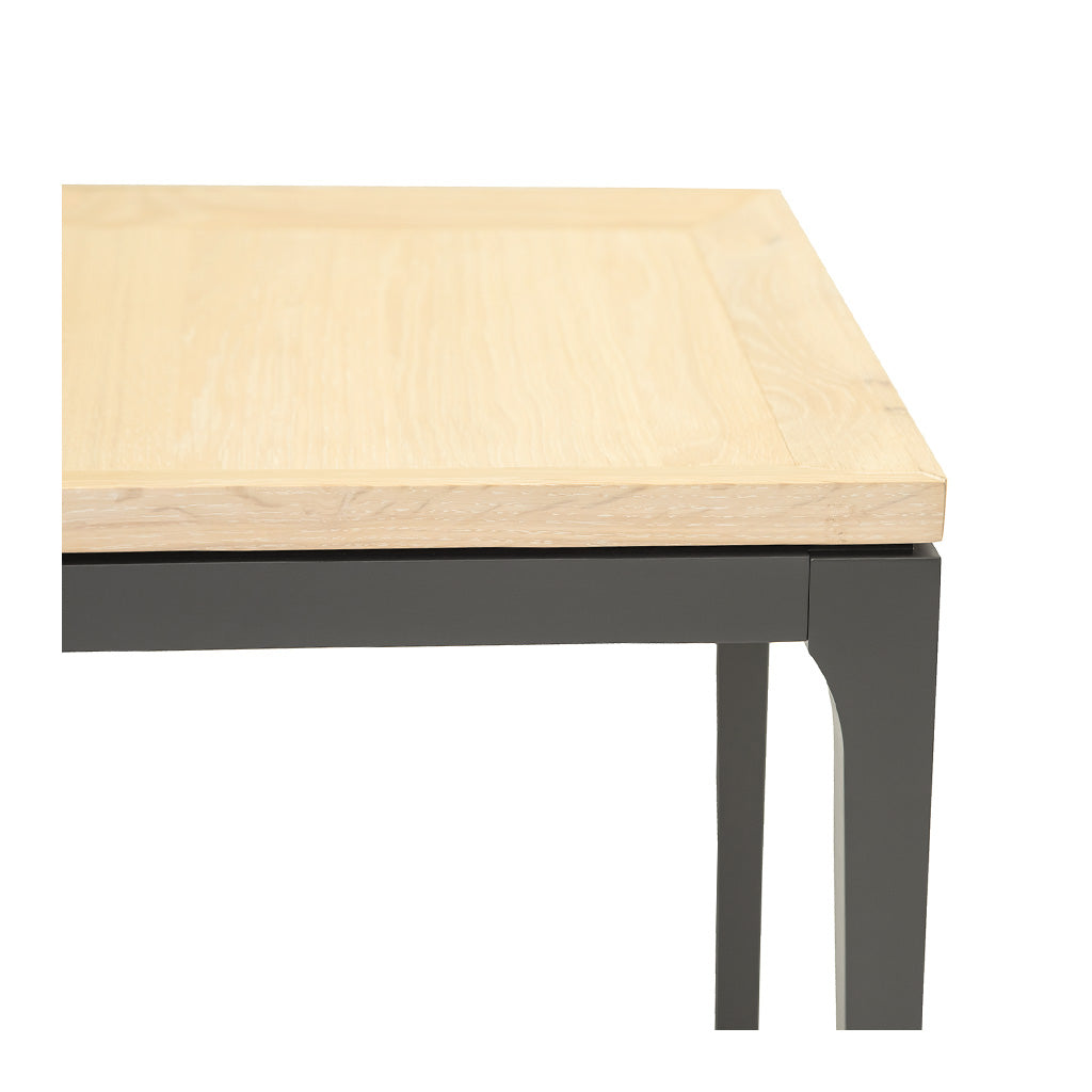 Mason Classic Contemporary Wooden Side Table The Design Edit