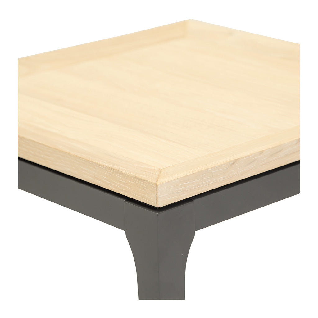 Mason Classic Contemporary Wooden Side Table