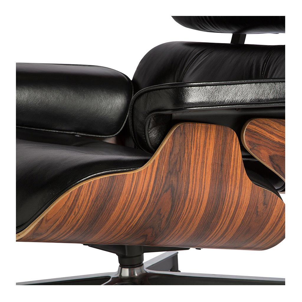 eames lounge ottoman replica aniline leather the design edit. Black Bedroom Furniture Sets. Home Design Ideas