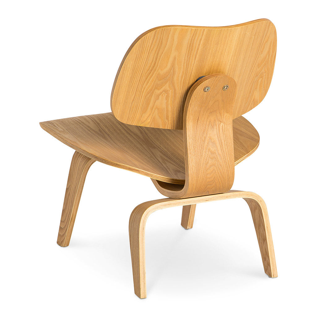 Eames moulded plywood lounge chair lcw replica the for Eames chair replica schweiz