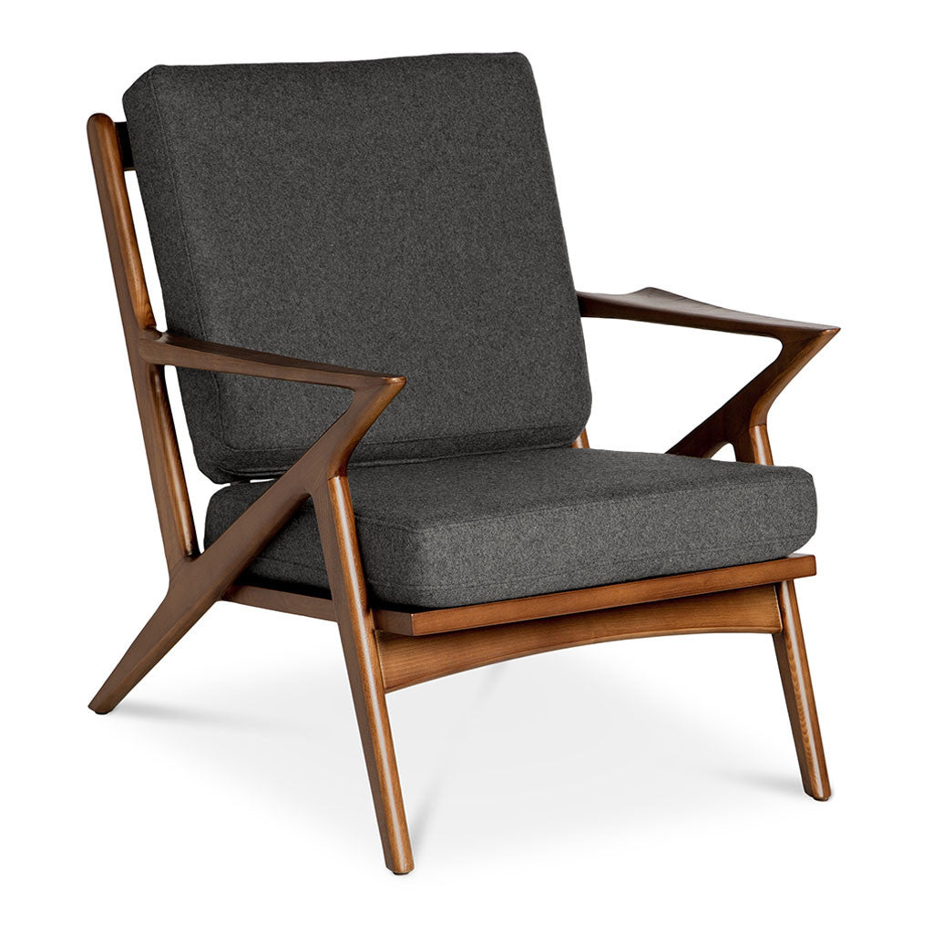 Selig Z Chair Replica Charcoal The Design Edit