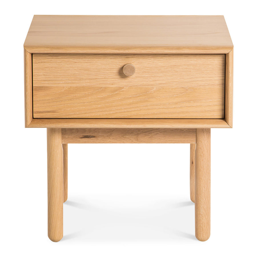 Natsumi Japanese Scandinavian Wooden Oak Bedside Table with Drawer BROSA Kaneko Lamp Table With Drawer INTERIOR SECRETS ST370-VN Kenston Lamp side table with drawer - Natural RETROJAN Akira Contemporary Side Table