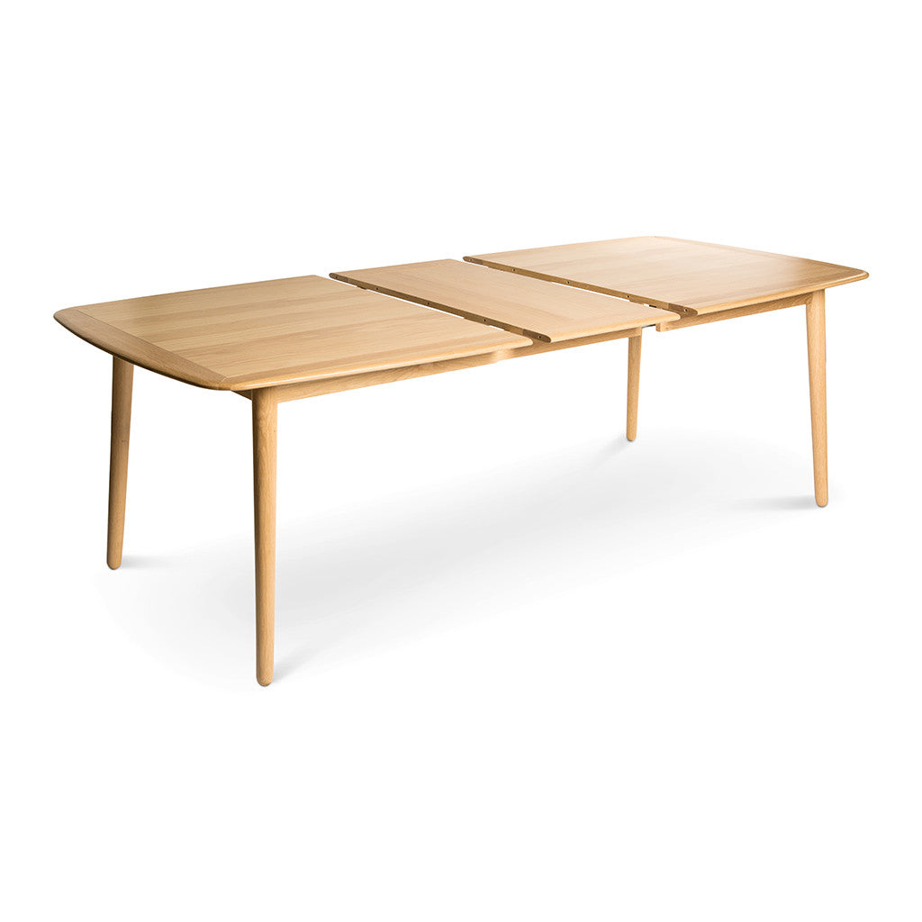 Natsumi Modern Japanese Wooden Extendable Dining Table ...