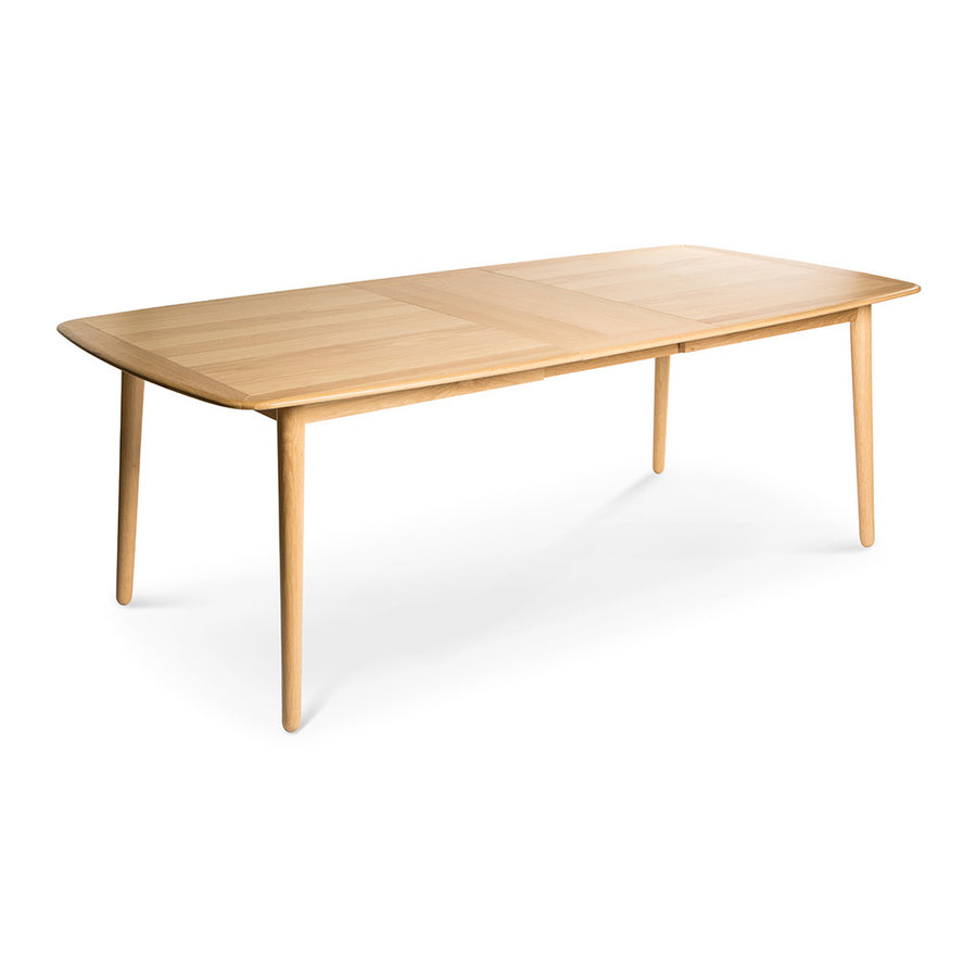 Natsumi Japanese Scandinavian Wooden Oak Extendable 6 - 8 Seater Dining Table BROSA TBLKAN02OAK Kaneko Extendable Dining Table, LIFE INTERIORS Koto Extension Dining Table (Oak, Large), TEMPLE AND WEBSTER CUDI1817 Talitha Extendable Dining Table
