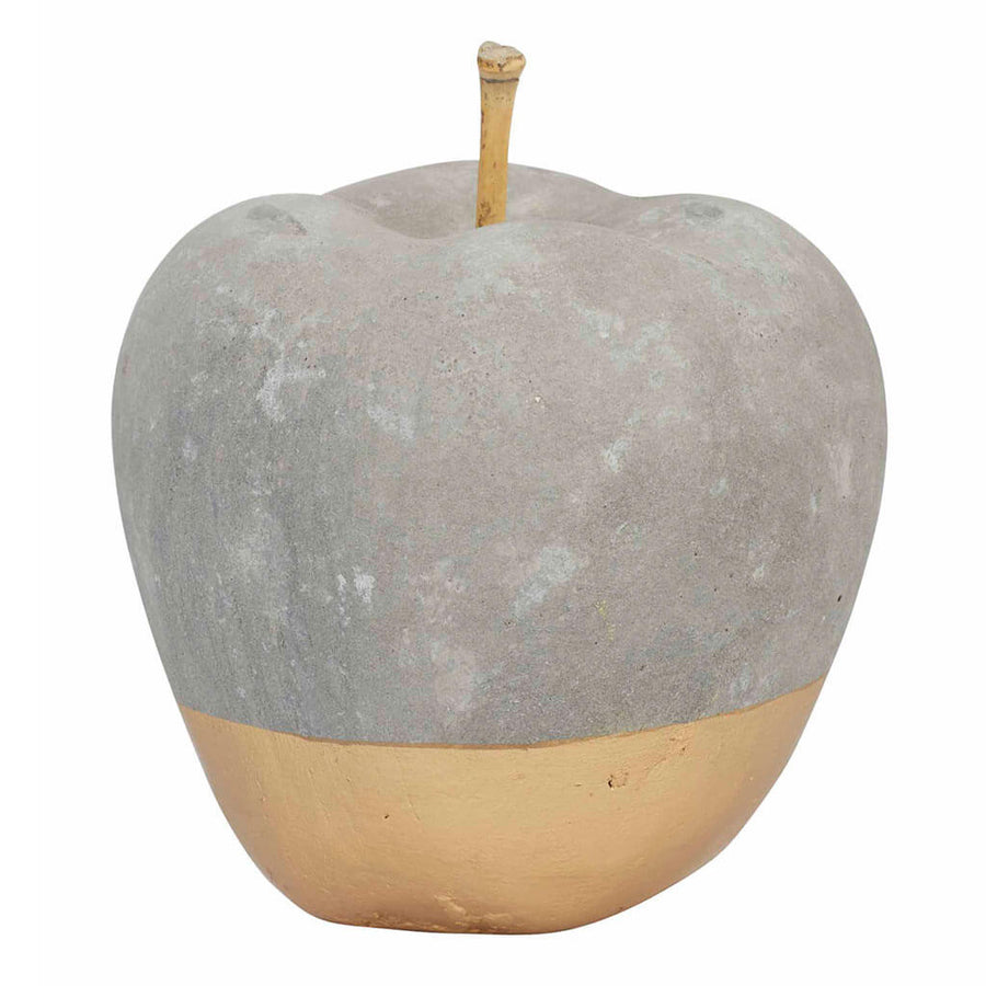 Other Decor Amalfi Concrete Apple Sculpture SIDE 134