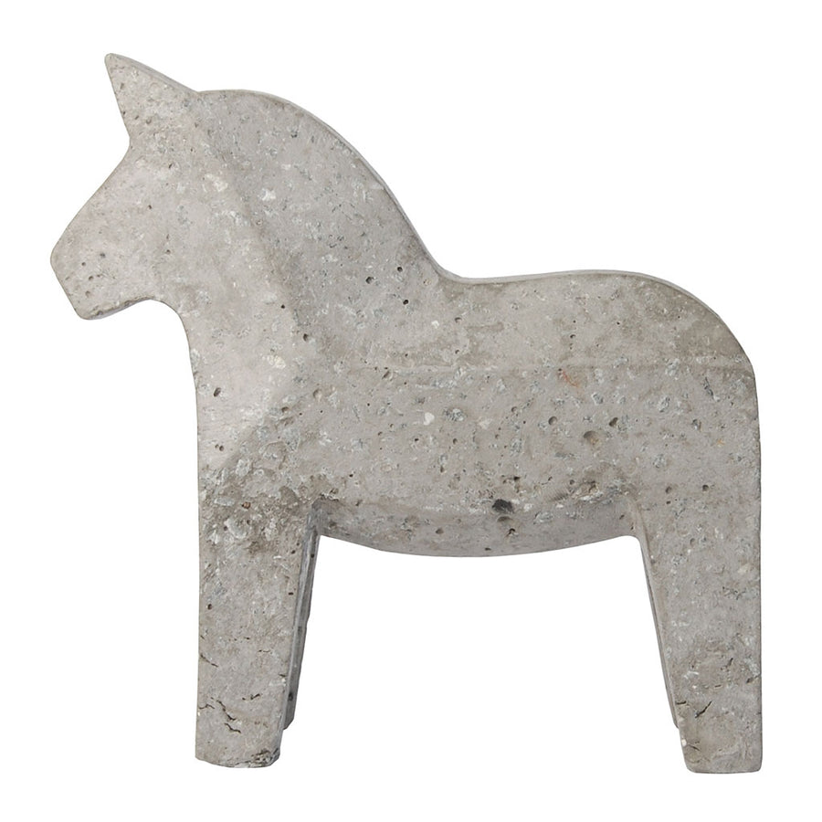 Other décor Zakkia Concrete Dala Horse - Natural 01-003-N-NAT