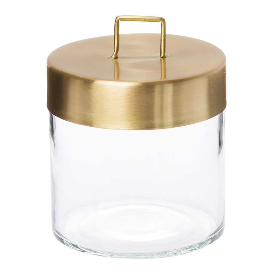 Other décor Zakkia Glass Jar - Medium Brass 160208001MBRS
