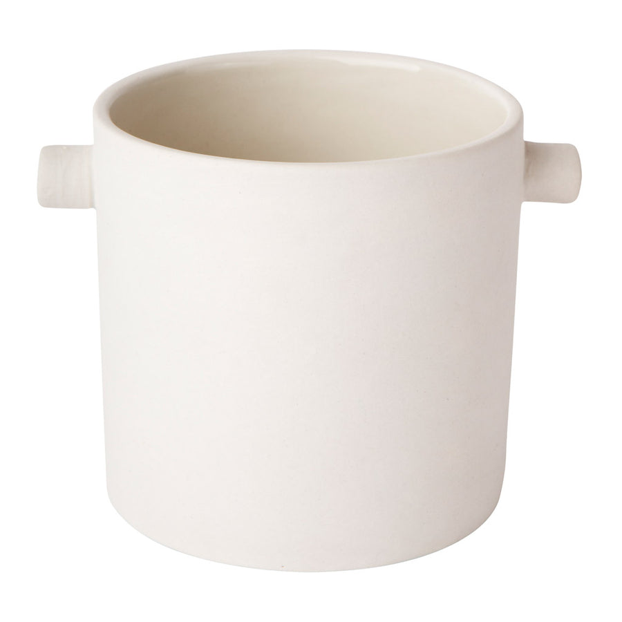 Other décor Zakkia Handle Pot - Small,  White 170106004SWHT
