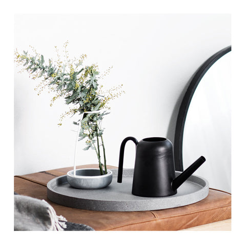 Black Watering Can by Zakkia
