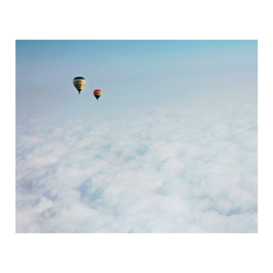 Over and Out Reignbow Hot Air Balloons Photo Print