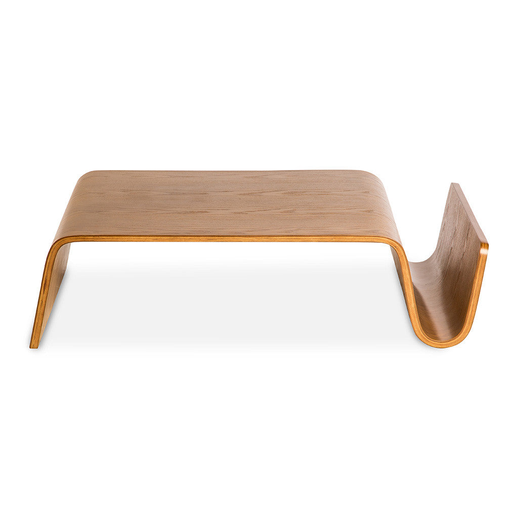 Scando Coffee Table Replica Light Walnut The Design Edit - Scando coffee table