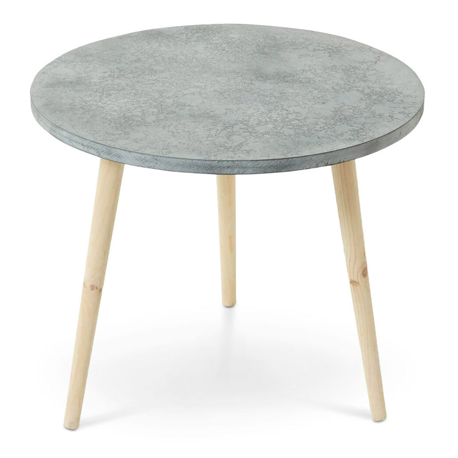 Side Tables Emporium Cynthia Concrete Look Side Table HDTBE554