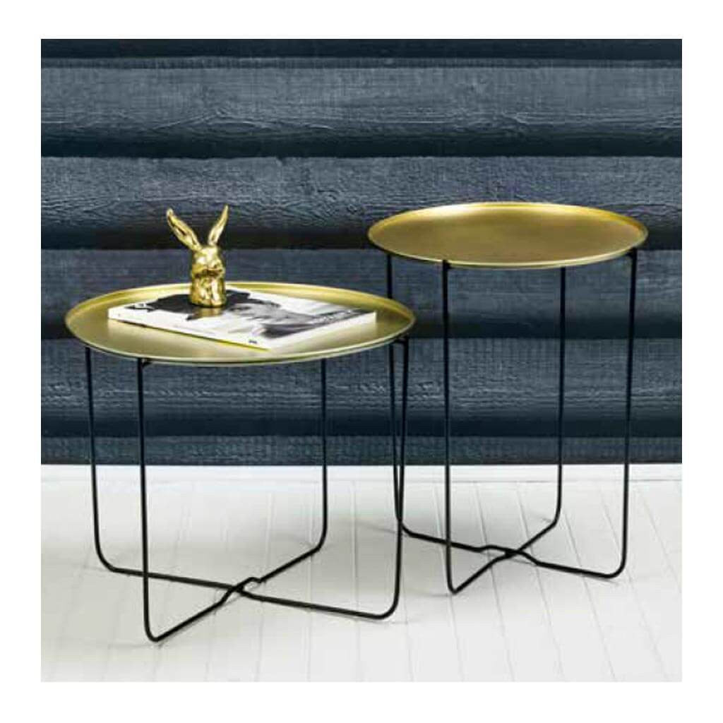 Side Tables Emporium Hendrix Side Table, Wide HDTBE730 lifestyle with tall