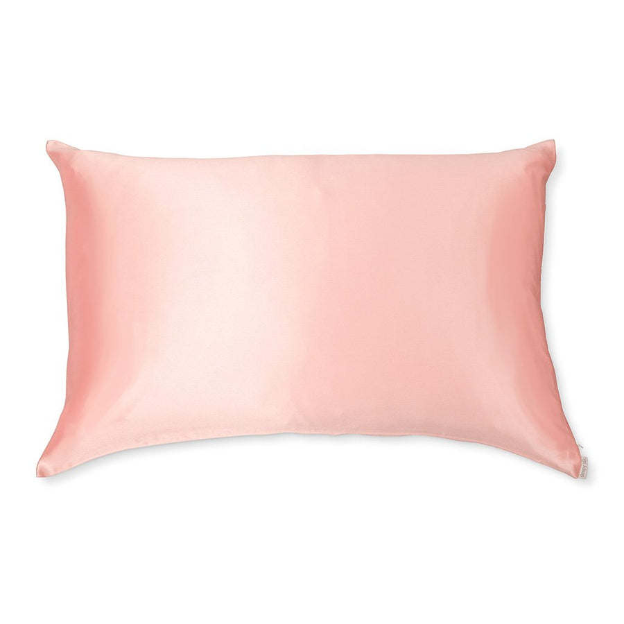 Sleepy Silk, Silk Pillowcase - Blush Pink (SS-PC-PK00), Silky Tots Double Sided Silk Pillow Slip, Pawda Baby 100% Mulberry Silk Junior or Adult Pillow Case, Slip Pillowcase, SHHH Silk Silk Pillowcase