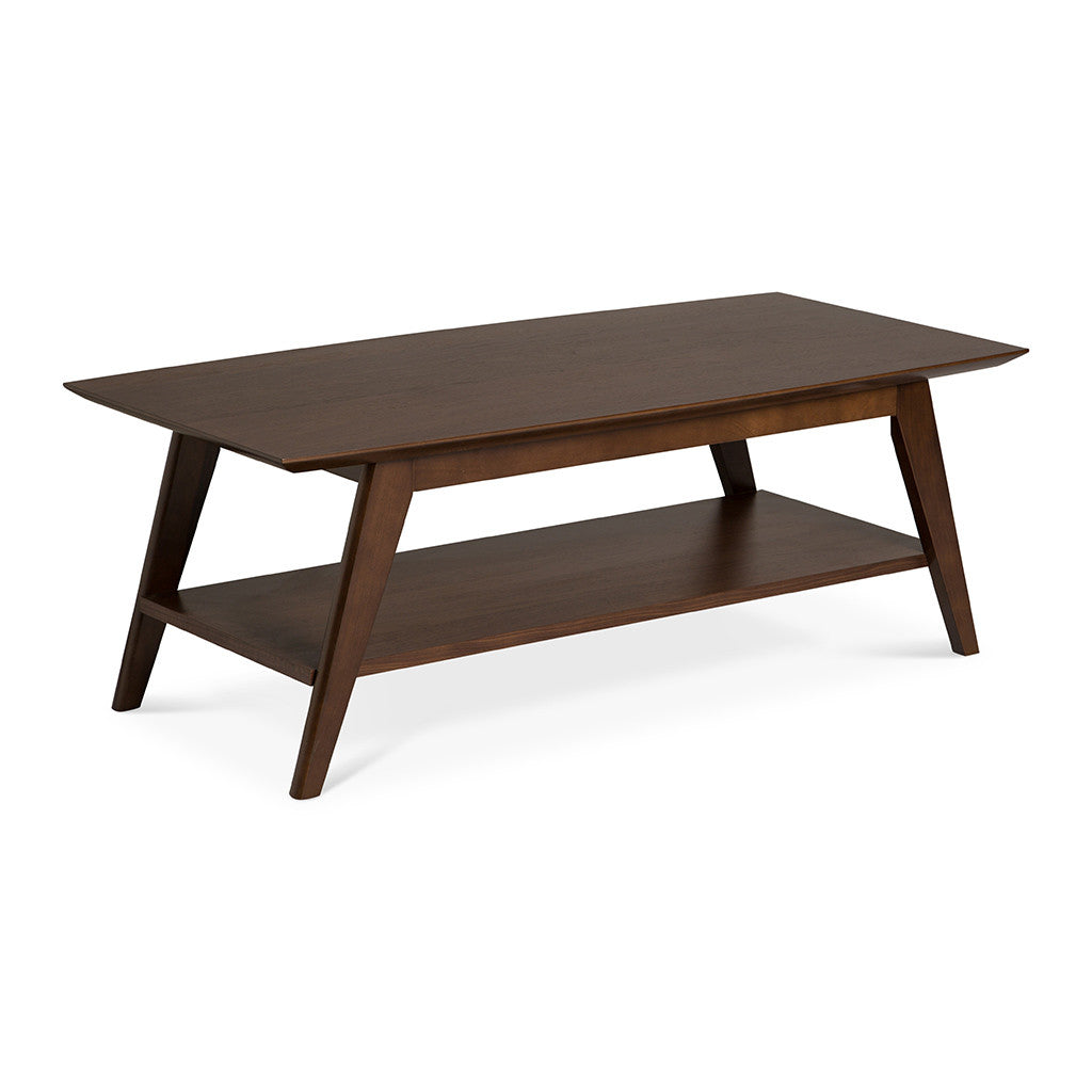 Stefan Retro Scandinavian Wooden Coffee Table
