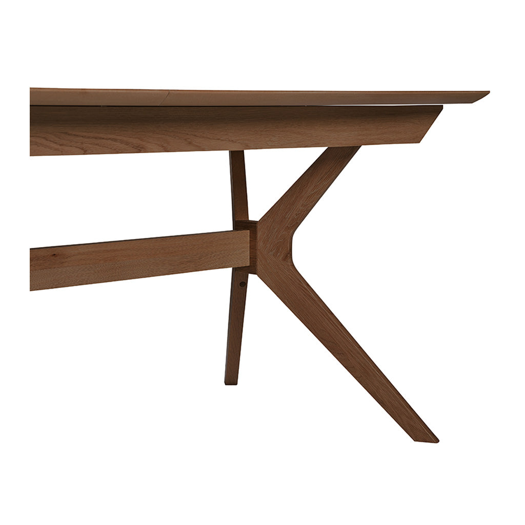 Stefan Scandinavian Walnut and Beech Wood Extendable 6 - 8 Seater Dining Table BROSA TBLELZ16WAL Elizabeth Extendable Dining Room Table, INTERIOR SECRETS  DT1045-VN Nora Extendable Dining Table- Walnut, RETROJAN Harper Extension Dining Table - Walnut