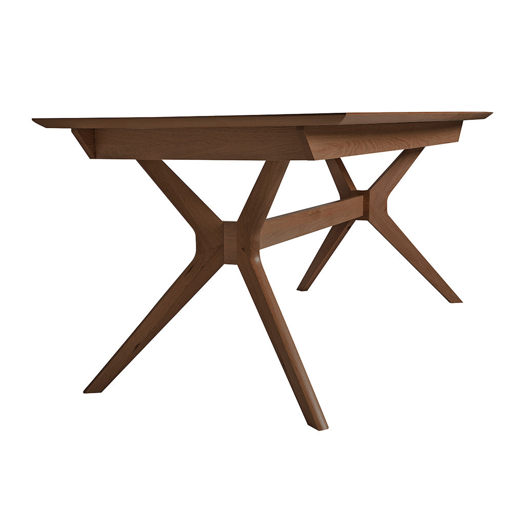 Stefan Scandinavian Walnut and Beech Wood Extendable 6 - 8 Seater Dining Table BROSA TBLELZ16WAL Elizabeth Extendable Dining Room Table, INTERIOR SECRETS  DT1045-VN Nora Extendable Dining Table- Walnut
