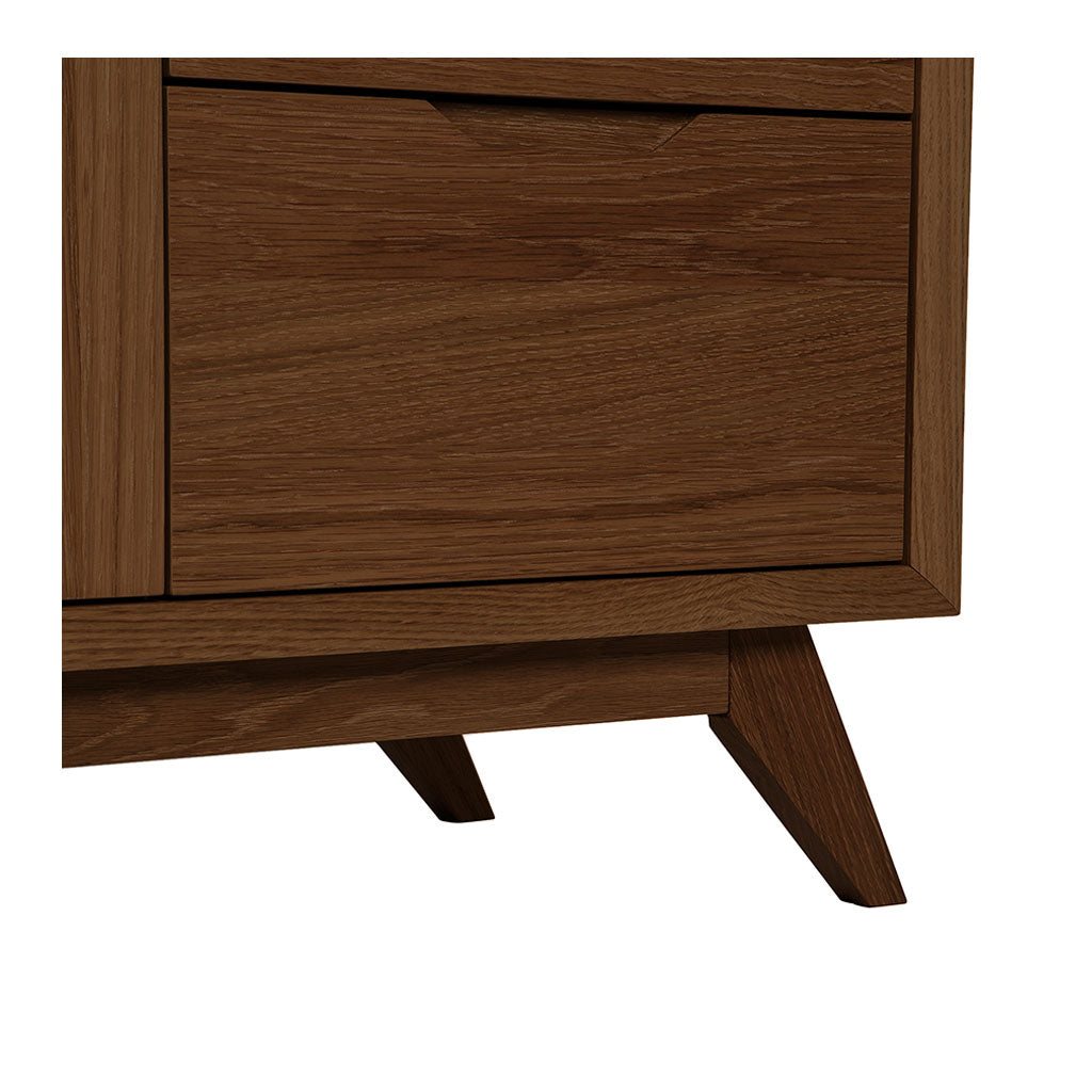 Stefan Scandinavian Walnut and Beech Wood Sideboard BROSA SDBELZ18WAL Elizabeth Sideboard, RETROJAN Harper Sideboard - Walnut