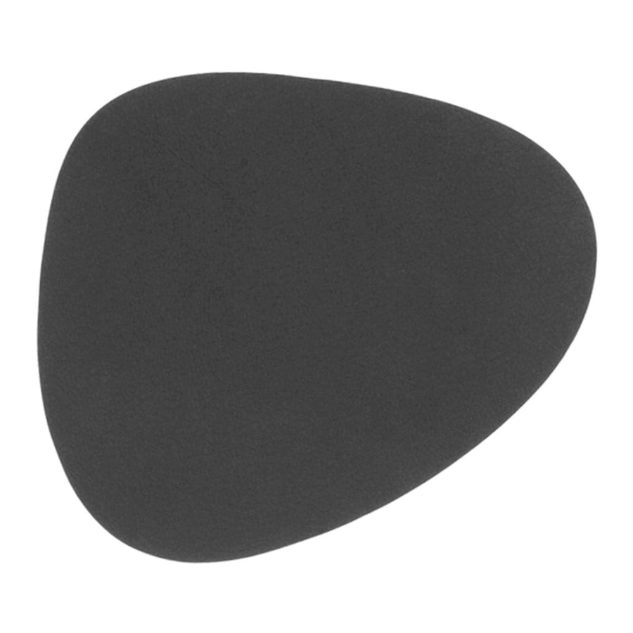 Tableware Lind DNA Nupo Curve Glass Mat in Anthracite 981181