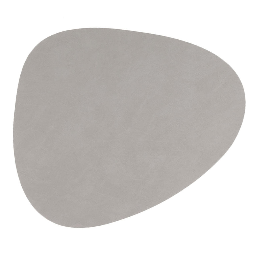 Tableware Lind DNA Nupo Curve Glass Mat in Light Grey 981182