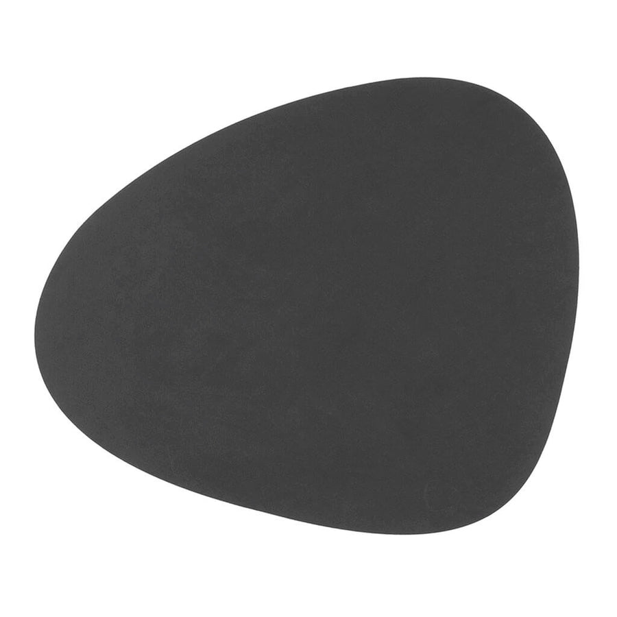 Tableware Lind DNA Nupo Curve Table Mat, Large in Anthracite 981161