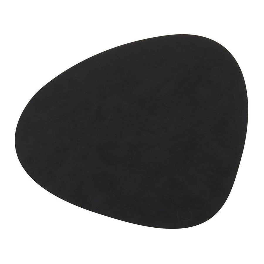 Tableware Lind DNA Nupo Curve Table Mat, Large in Black 981900