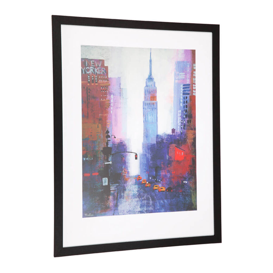 Wall Art Cafe Lighting & Living Wall Art - Manhattan Empire State 51237