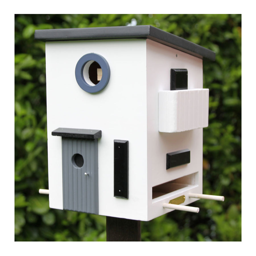 Wildlife Garden Multiholk Designer Bird House + Feeder Funkis House WG108