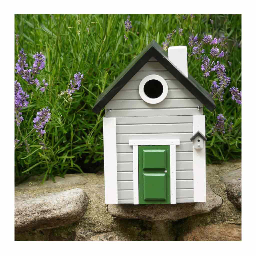 Wildlife Garden Multiholk Designer Bird House + Feeder Grey Cottage WG119