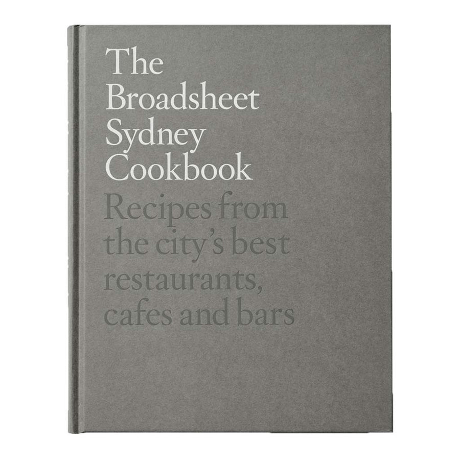 Coffee Table Books - Pan Macmillan - Broadsheet - The Broadsheet Sydney Cookbook - 9781743537855