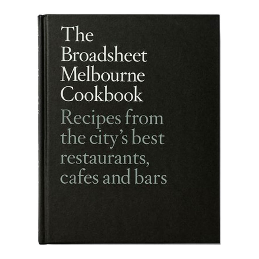 Pan Macmillan - The Broadsheet Melbourne Cookbook - ISBN 9781743537848 - Front