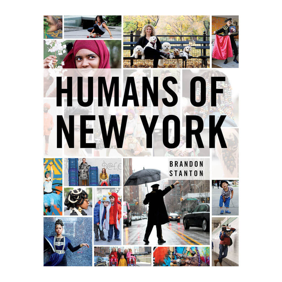 St Martins Press - Brandon Stanton - Humans of New York - ISBN 9781250038821 - Front