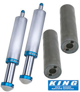 "king 2"" bump stops and lt mounting tabs"
