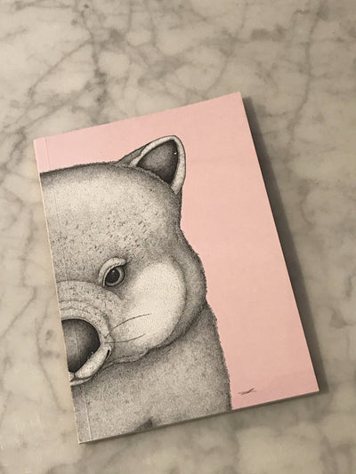 Walter the Wombat Notebook