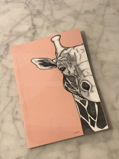 Georgi the Giraffe Notebook